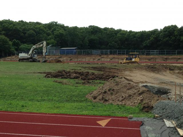 Ground Breaking Of New Field